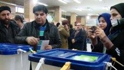Coronavirus Concerns In Iran Amid Elections video grab 2