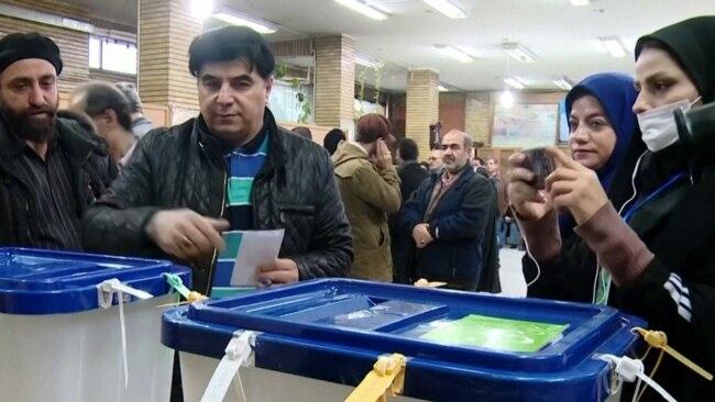 Coronavirus Concerns In Iran Amid Elections