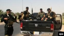 Pripadnici Šitske milicije i brigada Hezbolaha koji se bore protiv militanata Islamske države 2014