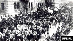 Osmanlı ordusu Bakıda, 1918
