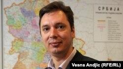 Zëvendës kryeministri i Mbrojtjes së Serbisë, Aleksandër Vuçiq