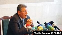Moldova's acting president, Mihai Ghimpu