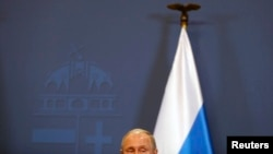 Володимир Путін у Будапешті, 17 лютого 2015 року