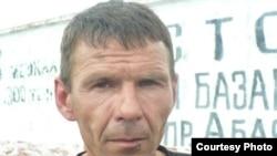 Аркадий Баев, АК - 159/20 қоныс колониясындағы жазасын өтеуші. Шахтинск. 24 маусым 2011 жыл.