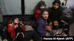 Pamje pas sulmeve në Siri.