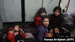 U Istočnoj Ghouti je pravi pakao, kaže Juliette Touma (Foto: Djeca u Istočjnoj Ghouti)