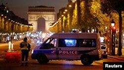 Парижда полициячиларга ҳужум содир этилган жой.