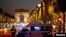 Champs Elysees prospekti, 20 aprel
