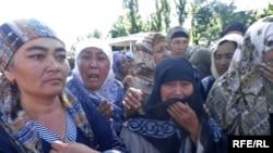 Протесты в Оше продолжаются