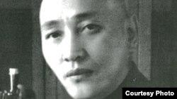 1946-1954 жылдарғы Қазақстан компартиясының бірінші хатшысы Жұмабай Шаяхметов. Сурет Мадат Аққозинның «Вернуть из забвения» кітабынан алынды.