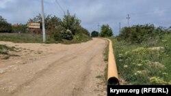 Недостроенный кольцевой газопровод
