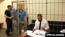 Олександр Кацуба у залі суду, 18 червня 2016 року (фото з сайту ГПУ)