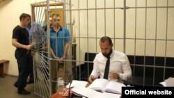 Олександр Кацуба у залі суду (фото з сайту ГПУ)