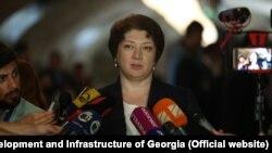 Министр инфраструктуры Майя Цкитишвили наотрез отказалась публично обсуждать наболевшие вопросы
