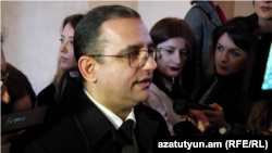 Министр экономического развития Тигран Хачатрян, Ереван, 31 января 2019 г.
