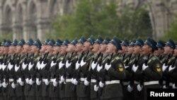 9 май паради учун Москва маркази йўловчилар учун тўсиб қўйилди.