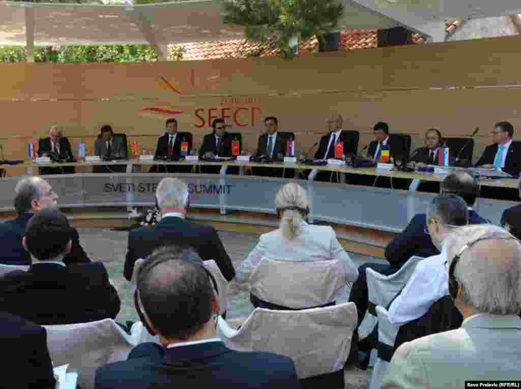 Samit Procesa saradnje u Jugoistočnoj Evropi, Sv. Stefan, 30. juni 2011, Fotografije: RSE / Savo Prelević