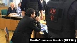 МагомедИбрагимов в суде, 2017 год