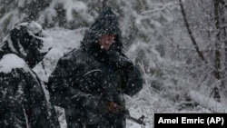 Heavy snow has made the search in a mountainous region more difficult.