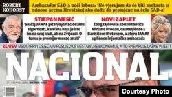 """Najnovije izdanje magazina """"Nacional"""""""