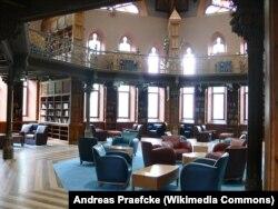 Академический зал библиотеки Chancellor Green Hall. Принстонский университет. Фото Andreas Praefcke