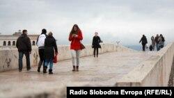 Центар Скопје, луѓе,
