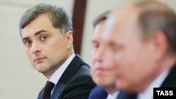 Владислав Сурков во время визита Владимира Путина в Китай, 4 сентября 2016 года