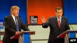 تد کروز (راست) رقیب گذشته دونالد ترامپ، یکی از طراحان لایحه تازه در سنای آمریکا