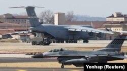 Военная база США в Южной Корее, март 2018 года