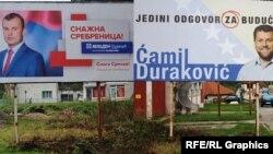 Prosperitet se žrtvuje za vlast: Predizborni plakati u Srebrenici