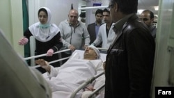 علی دایی در بیمارستان(عکس از فارس)