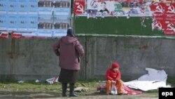 Panou electoral în campania pentru alegerile din 5 aprilie 2009