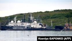 Severomorsk şəhərində sualtı gəmi