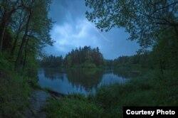 Залева ў Пячэрскім лесапарку пад Магілёвам. 27.05.2015