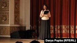 Ведущая вечера – Эсма Джения, художественный руководитель Абхазской филармонии