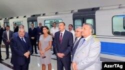 Prezident «Dərnəgül» stansiyasının açılışında