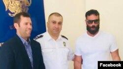 Дэн Бильзерян в Армении, 27 августа 2018 г.