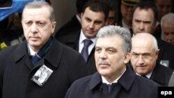 Abdullah Gül və Recep Tayyip Erdogan