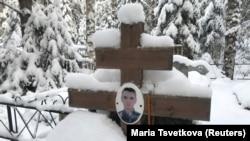 Могила погибшего в Сирии российского наёмника Александра Лусникова. Иллюстративное фото