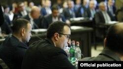 Առողջապահության նախարար Արսեն Թորոսյանը կառավարության նիստին, արխիվ