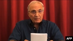 Former Egyptian Prime Minister Ahmed Shafiq (file photo)