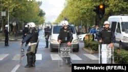 Podgorica nakon policijskog uklanjanja protesta DF