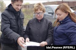 Светлана Семина (справа)