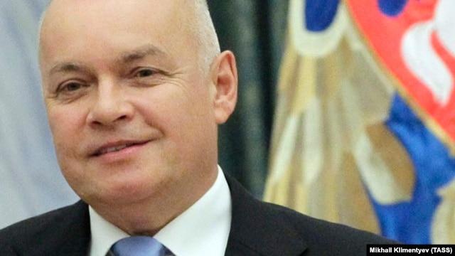 Заместитель генерального директора ВГТРК Дмитрий Киселев