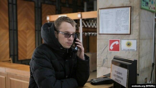 Зьміцер Дашкевіч у Міністэрстве адукацыі