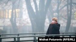 Smog u Sarajevu, decembar 2013.