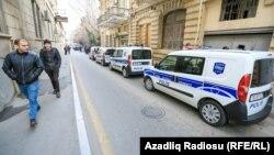 На улице в Баку. Иллюстративное фото.