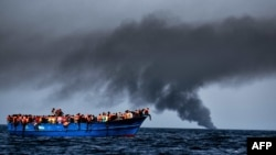 According to the International Organization for Migration more than 4,000 migrants have died in the Mediterranean so far this year (file photo).