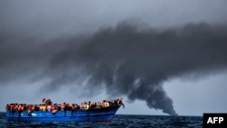 The EU wants to shut down the dangerous Mediterranean Sea crossing from Libya to Italy as a route for illegal migrants (file photo).