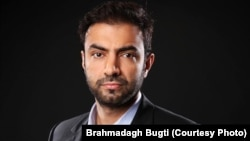 Brahamdagh Bugti, leader of the Baloch Republican Party.